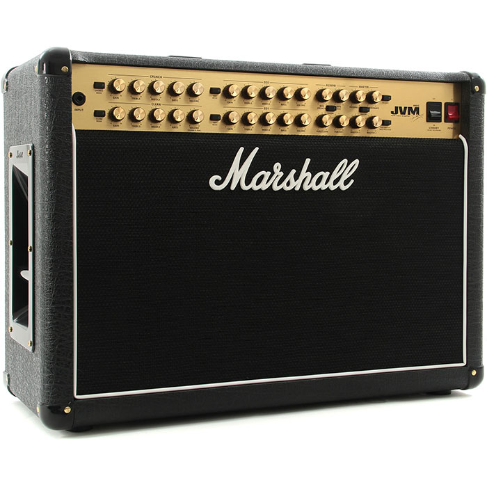 "Marshall JVM410C 2x12"" 100-Watt 4-Channel Tube Combo"