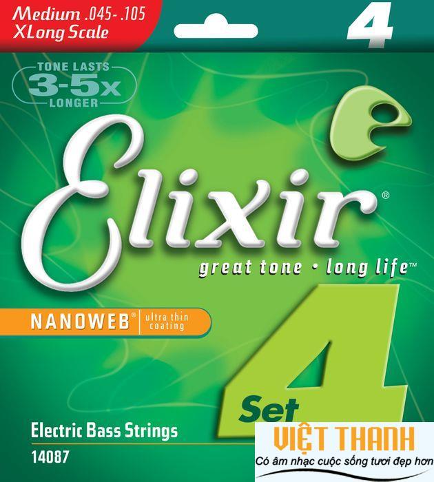 Elixir Bass Guitar NanoWeb 14087