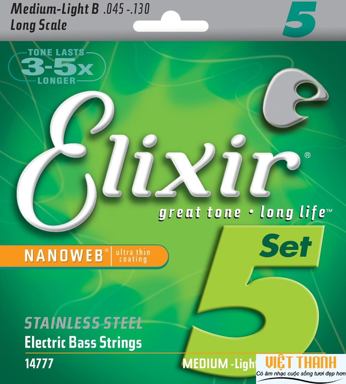 Elixir Bass Guitar Nanoweb 14777