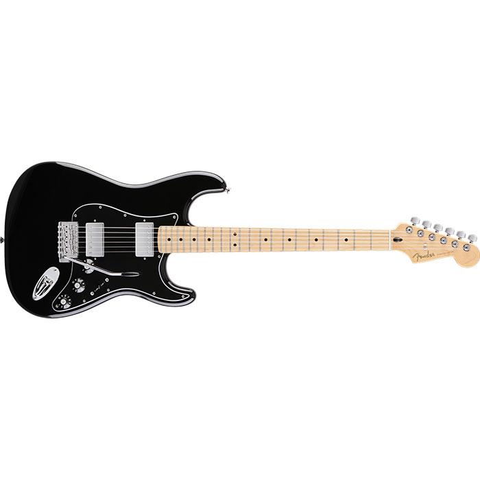 Fender Blacktop™ Stratocaster® HH, Maple Fingerboard, Black