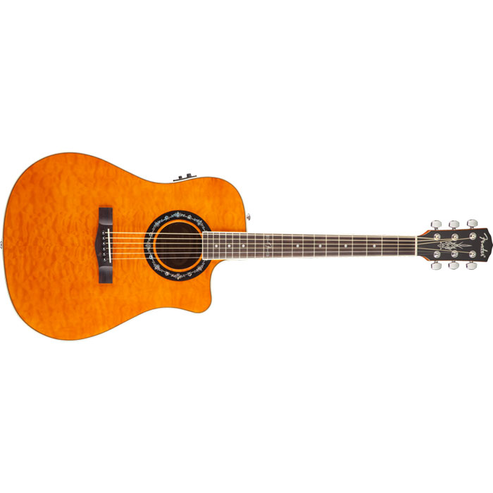 Fender T-Bucket 300-CE Amber Quilt