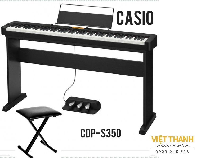 Casio CDP-S350 3 pedal
