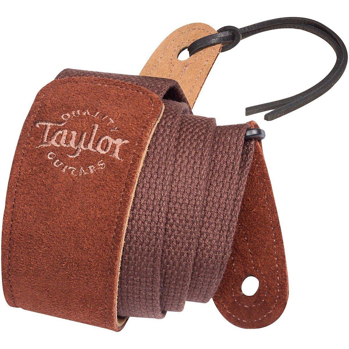 Taylor Suede/Web Strap Chocolate