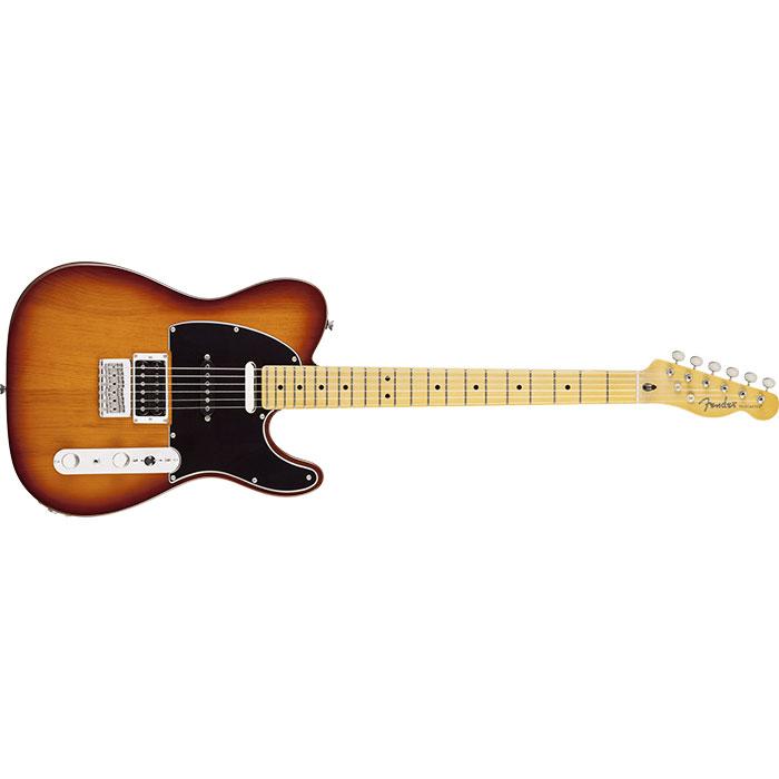 Fender Modern Player Telecaster® Plus, Maple Fingerboard, Honey Burst