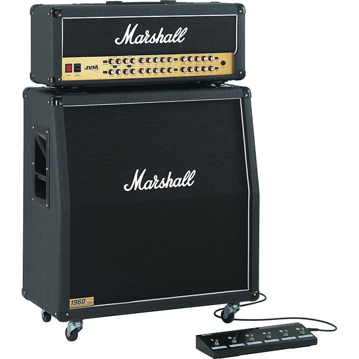 Marshall Half Stack JVM410H head and 1960AV